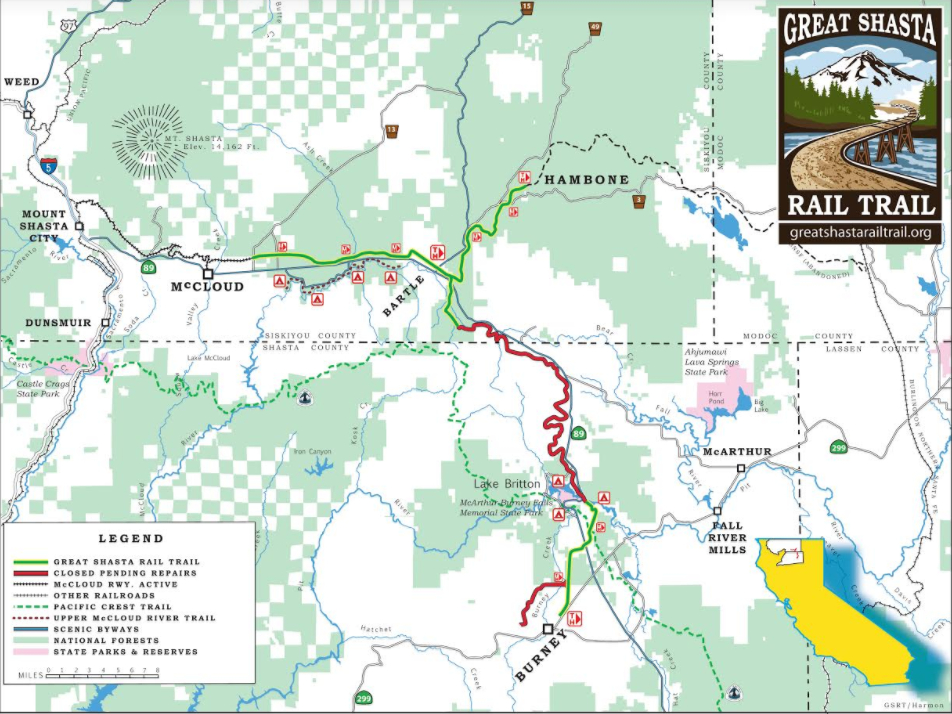 Maps And Transportation In Shasta County