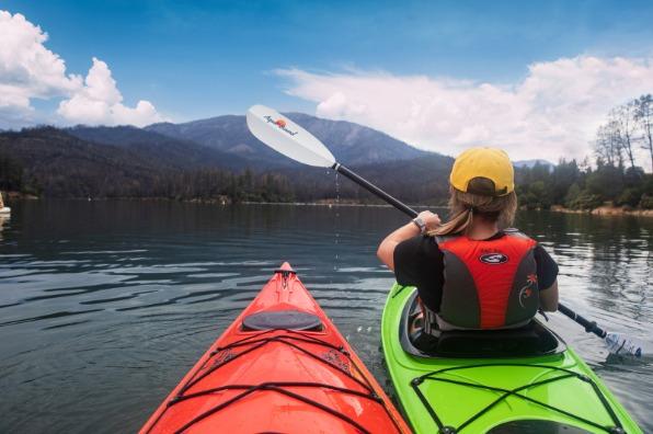 Kayaking at Whiskeytown National Recreation Area