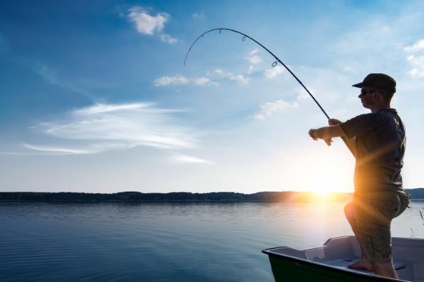 Fishing at Lake Almanor