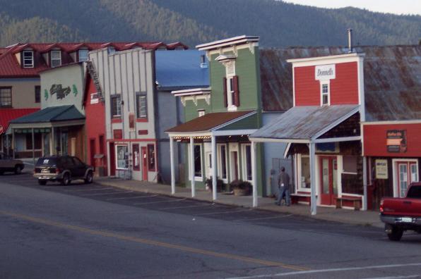 Historic Greenville in Plumas County, California
