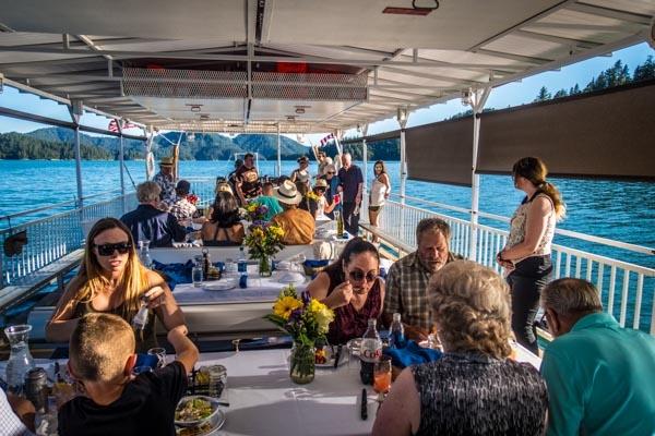 Shasta Lake Dinner Cruise