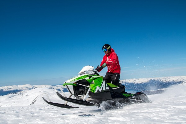 Snowmobiling in the Shasta Cascades